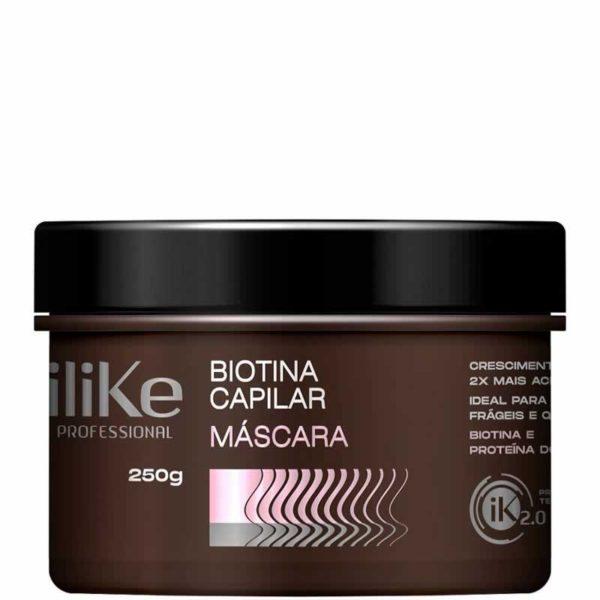 Máscara Biotina Capilar iLike 250g
