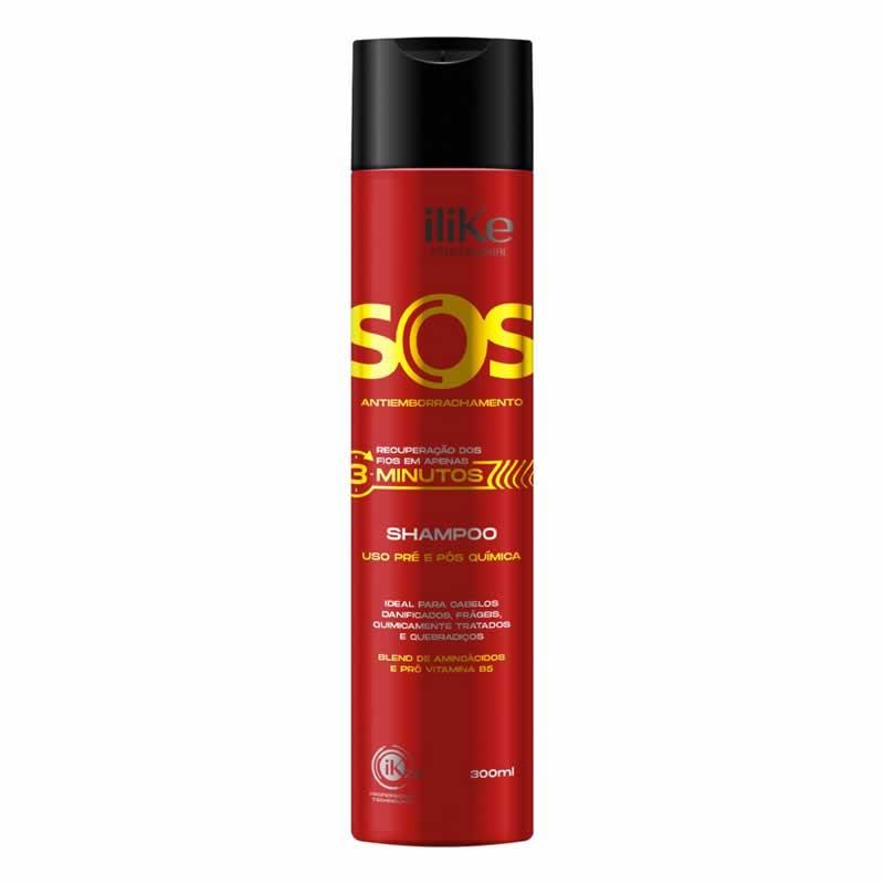 iLike Shampoo SOS Antiemborrachamento 300ml