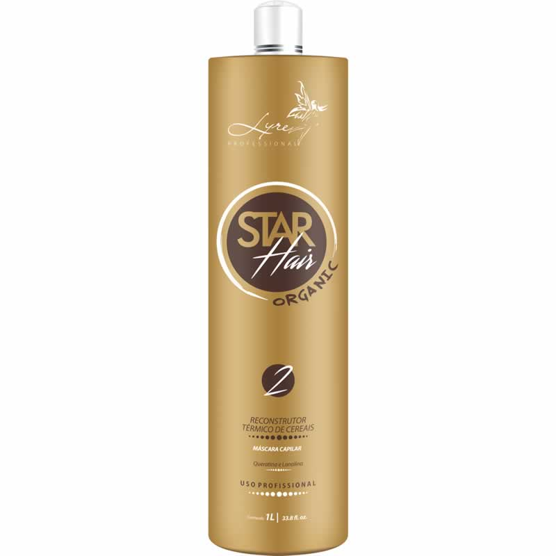 Escova Progressiva Star Hair Organic Lyre 1L