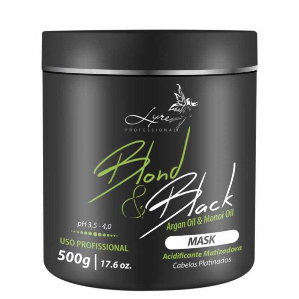 Máscara Blond & Black Lyre 500g