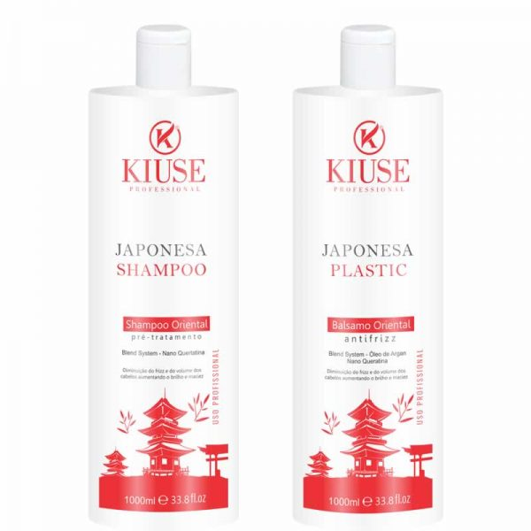 Kit Kiuse Progressiva Japonesa Plastic 2x1L
