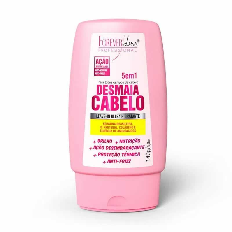 Forever Liss Leave-in Desmaia Cabelo 5 em 1 - 140g