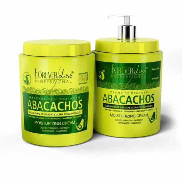 Kit de Tratamento Forever Liss para Cacheadas Abacachos