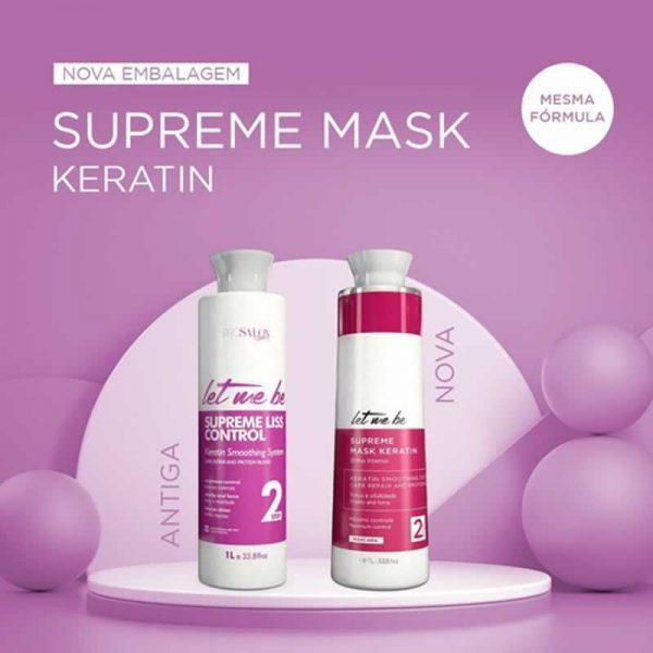 Let Me Be Progressiva Supreme Mask Keratin 2x1L
